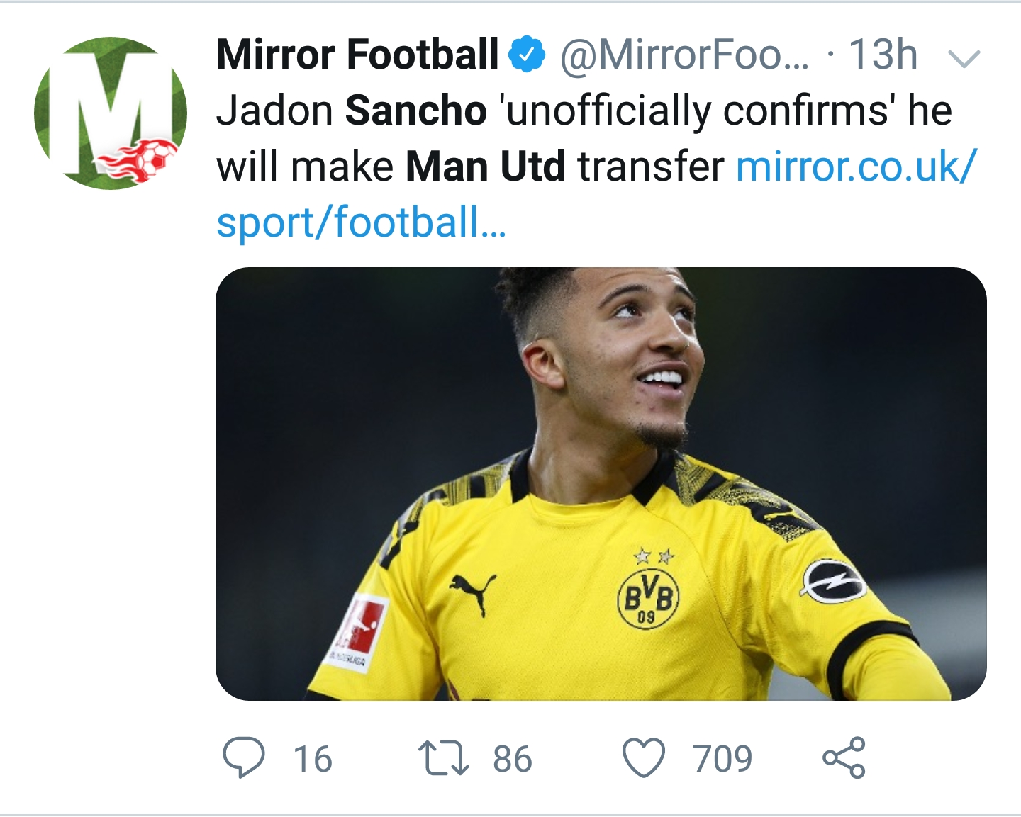 sancho transfer